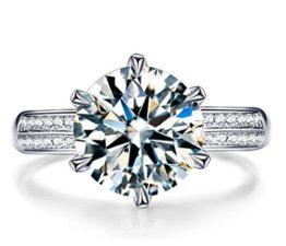 Damen Ringe Öffnung Verstellbar 925er Sterling Silber mit Zirkonia Memoir-Ringe Partnerschaftsringe Trauringe Verlobungsringe