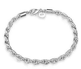 Damen Armband Armschmuck Armkette Armreifen aus 925 Sterling Silber